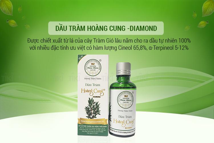 Dầu Tràm Hoàng Cung Diamond - 50ml 1