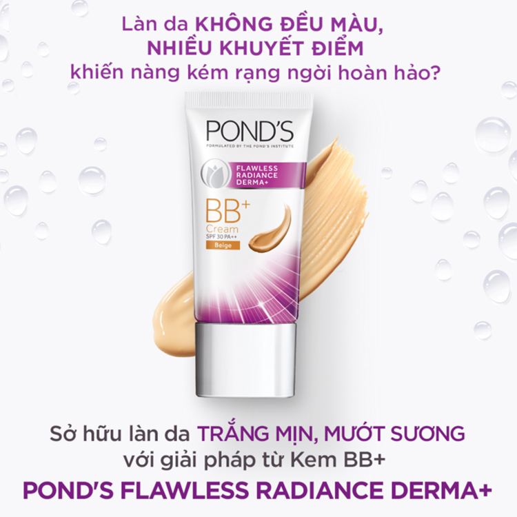 Kem BB+ Pond's Flawless Radiance Derma+ (25g)