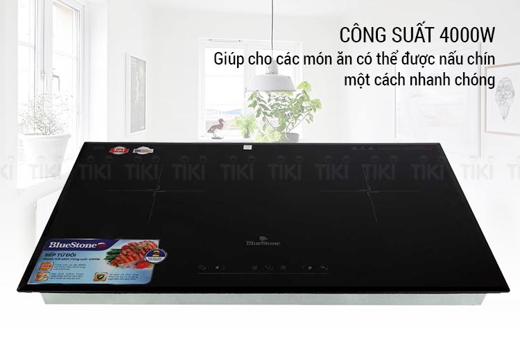 Bếp Âm Từ Đôi Bluestone ICB-6831 (4000W) - Hàng Chính Hãng