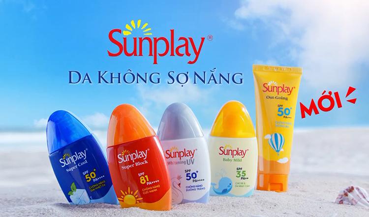 Sữa Chống Nắng Sunplay Cực Mạnh Sunplay Super Block SPF 81 PA++++ 30g + Tặng Kem Rửa Mặt Hada Labo 25g