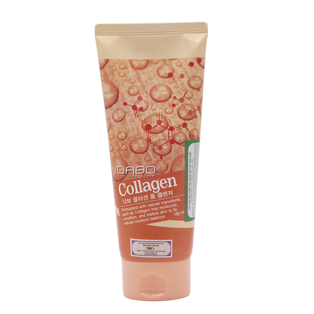Sữa rửa mặt Dabo Collagen Foam Cleanser