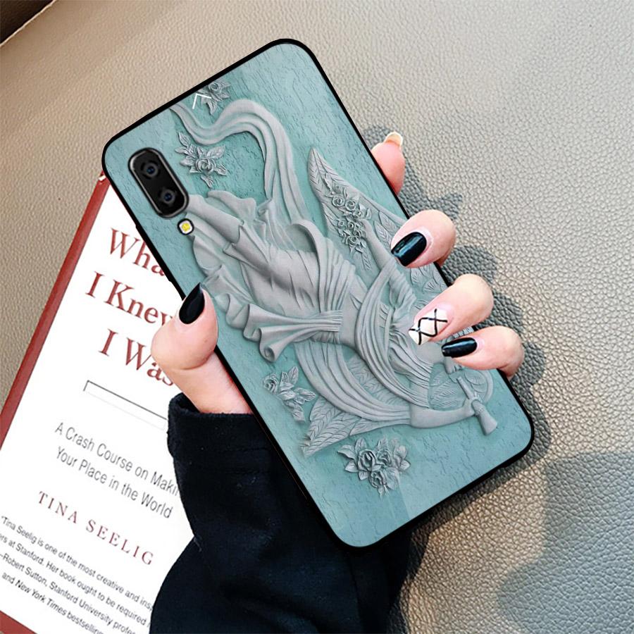 Ốp điện thoại dành cho máy Samsung Galaxy A70 - hình Điêu Khắc MS DKHAC022