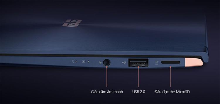 """Laptop Asus Zenbook UX433FA-A6053T Core i5-8265U/Win10 (14"""" FHD) - Hàng Chính Hãng"""