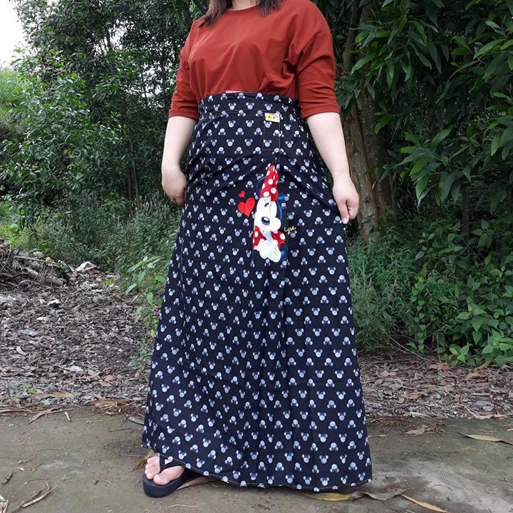 Váy Chống Nắng Nữ Đẹp Hình Chuột Mickey Dễ Thương