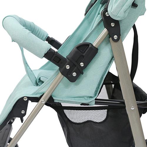Xe đẩy trẻ em đa năng gọn nhẹ Thời trang cho bé Màu xanh mint 14