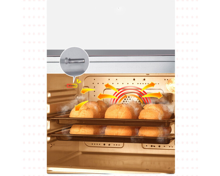 Bear Bear Electric Oven Multi-function Household Mini Small Baking Steam Oven Steaming One 20L Baking Cake Bread Biscuit Machine DKX-D20A1