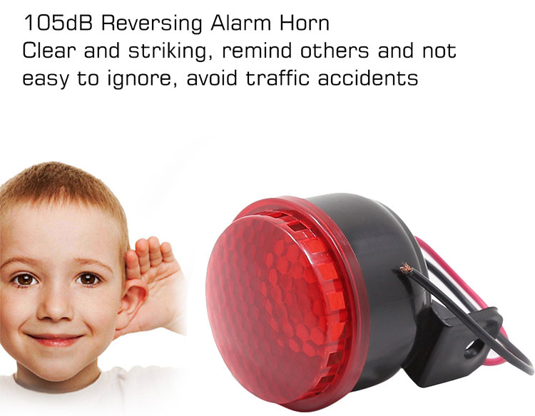 Car Reversing Alarm Horn Speaker Beeper Buzzer Brand New Durable Warning Horn AS079 for Car Motorcycle