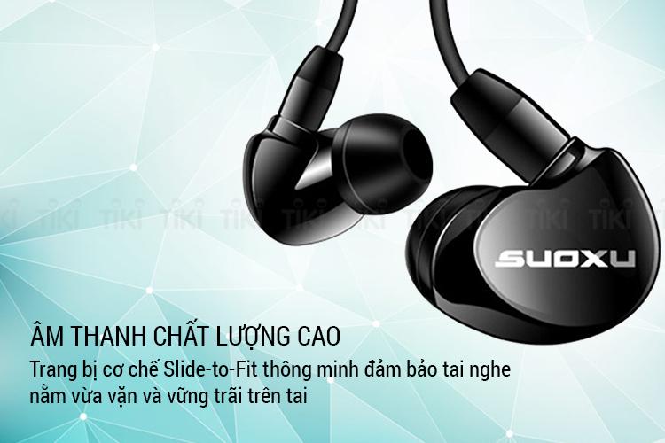 Tai Nghe Thể Thao Suoxu Stereo SX538