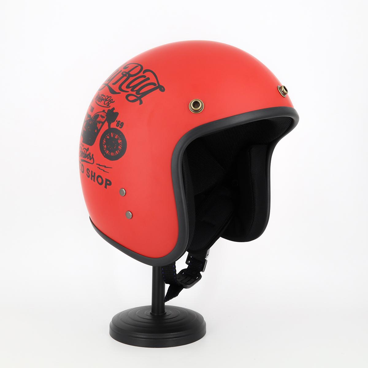 Mũ Bảo Hiểm 3 4 Đầu Tem Xe Cực Chất - Mũ Bảo Hiểm Chuyên Phượt Cao Cấp 3