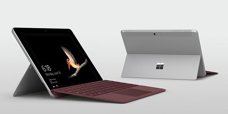 Microsoft Surface Go 2018 Pentium 4415Y 4GB/64GB/Win10 (10 inch) (Silver) - Hàng Chính Hãng