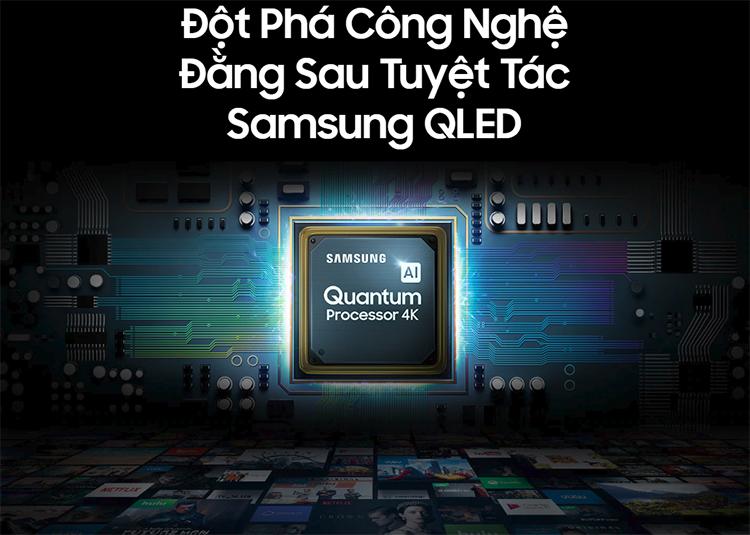 Smart Tivi QLED Samsung 75 inch 4K UHD QA75Q75RAKXXV