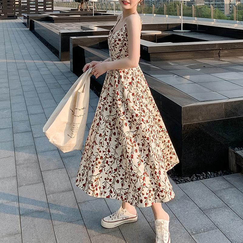 Váy 2 dây dáng dài, chất liệu vải cao cấp nhẹ nhàng thoáng mát,phù hợp đi biển đi chơi ngày hè 8