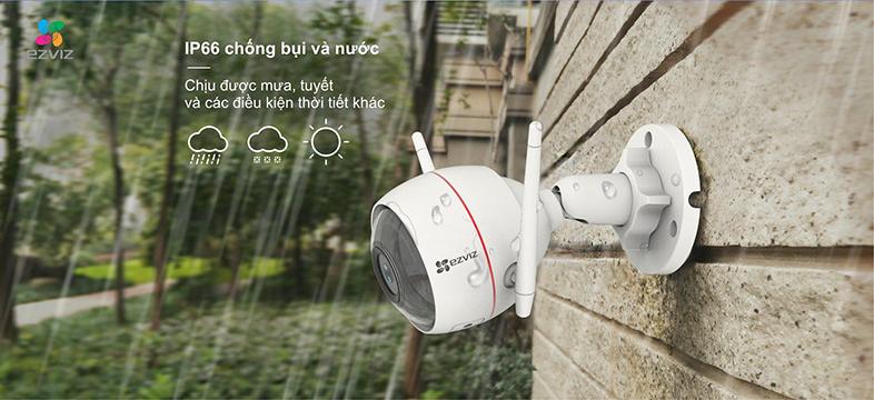 Camera IP Wifi EZVIZ C3W 720P có đèn còi - đàm thoại 2 chiều - hàng nhập khẩu 7