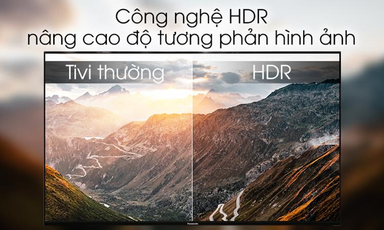 Android Tivi Panasonic 49 inch 4K UHD 49FX550V