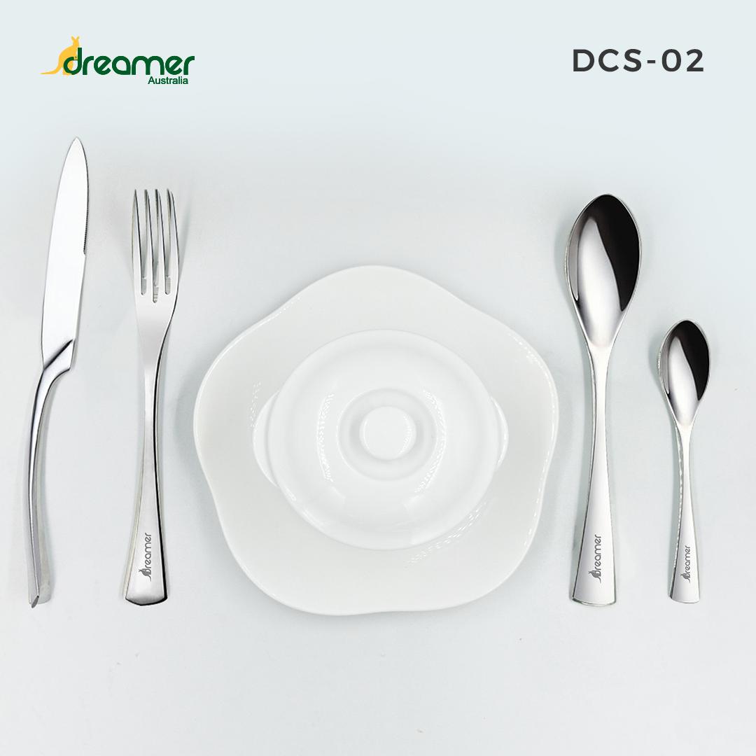 [Gift] Bộ dao muỗng nĩa INOX cao cấp 4 món DCS-02 2