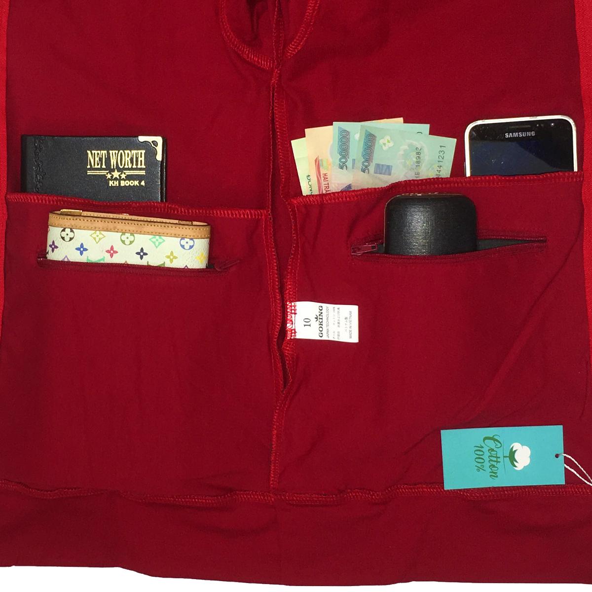 Áo khoác nữ GOKING vải da cá dày 100% cotton, thích hợp chống nắng và giữ ấm hiệu quả 2