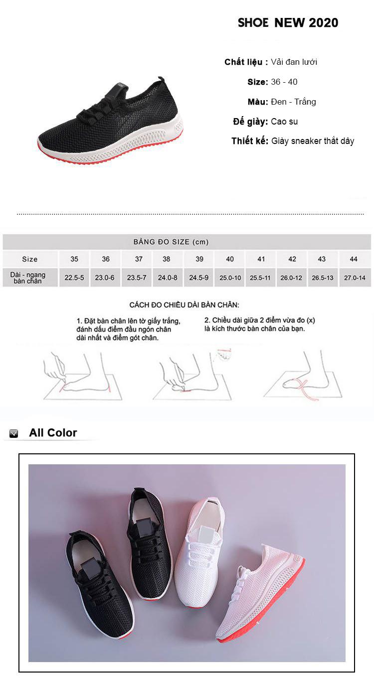 Giày Thể Thao Nữ Vải Cao Cấp 3Fashion Nhẹ Êm Chân Thích Hợp Đi Công Việc, Du Lịch, Vận Động - 3215 5