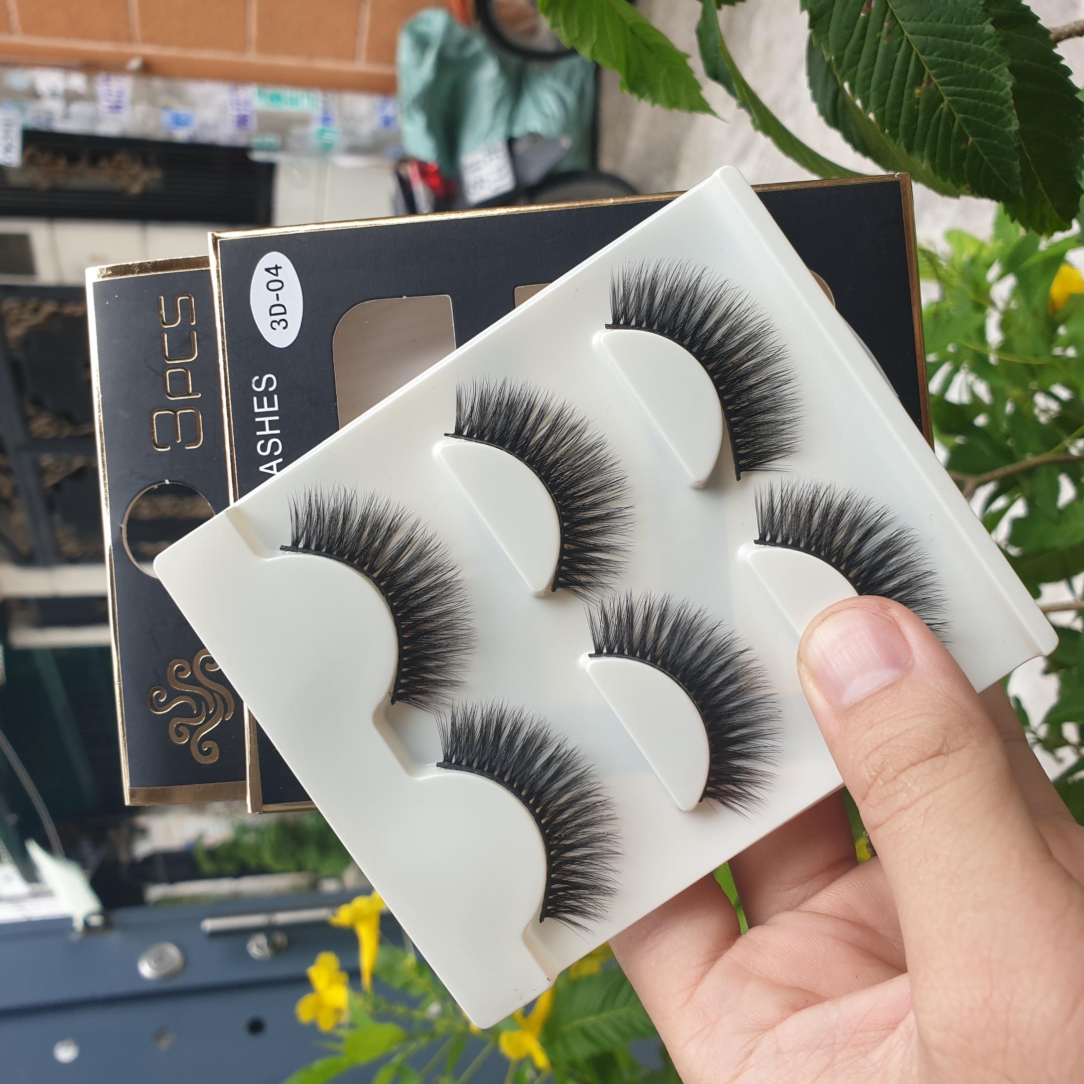 Lông mi giả lông chồn 3 Fashion Eyelashes 3 Faux-Cils 3D 1 bộ 3 cặp 17