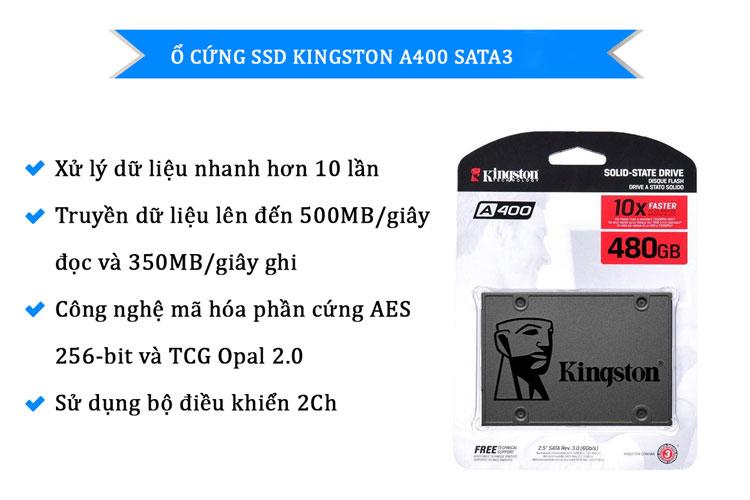 Ổ cứng SSD Kingston 120GB loại tốt giá rẻ Hà Nội