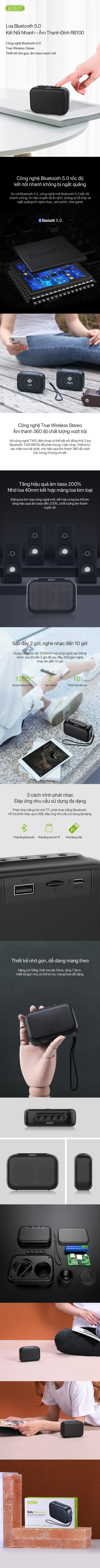 Loa Bluetooth 5.0, loa không dây, loa bluetooth, loa