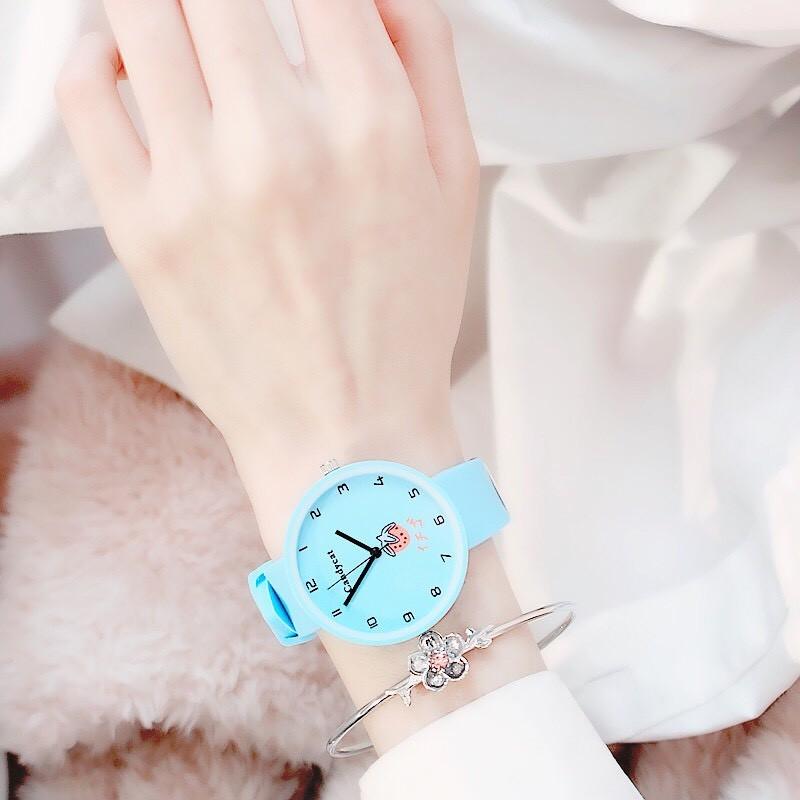 Đồng hồ nữ trái dâu Nhật Bản 4 màu thời trang 19