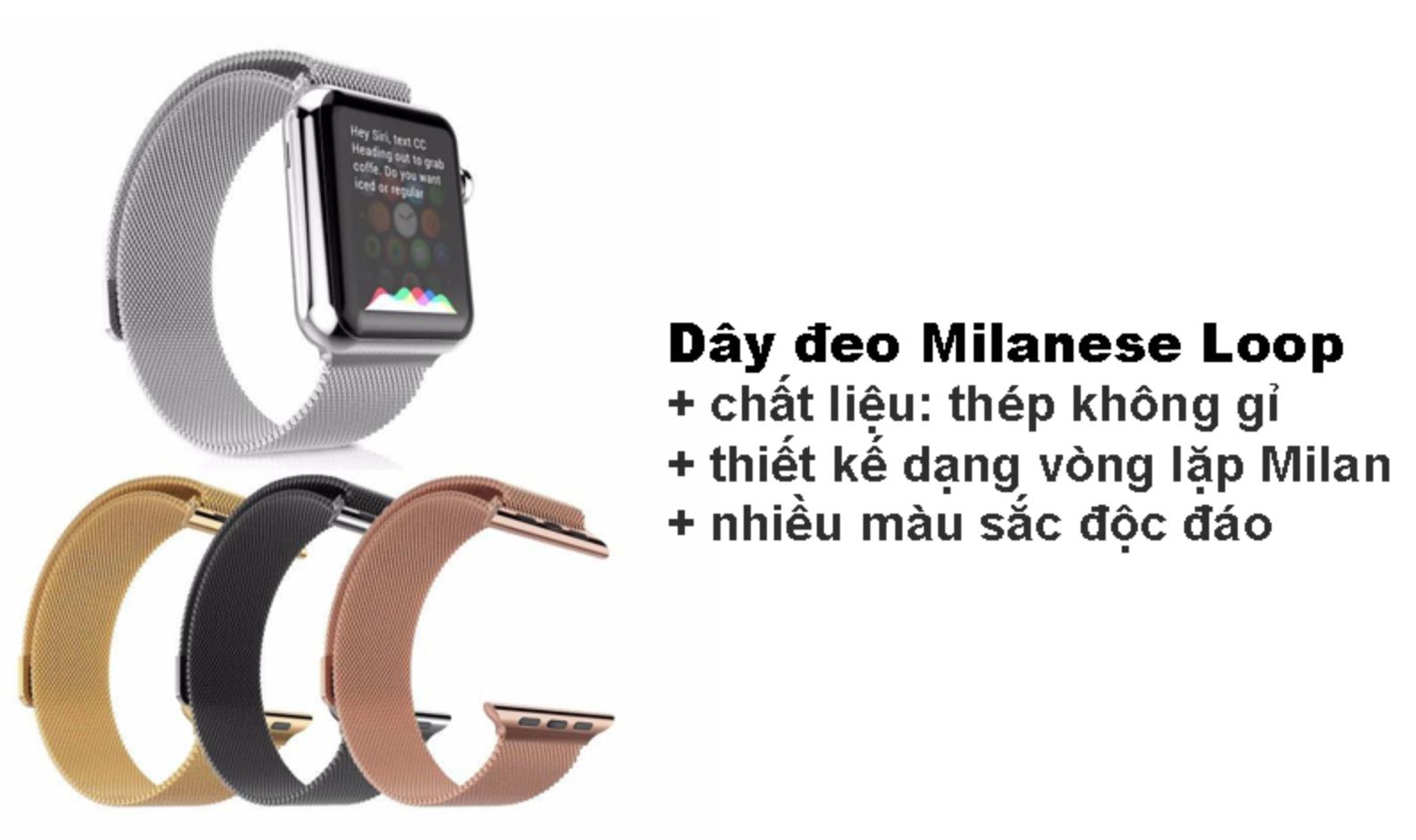 Dây đeo Milanese Loop đủ size