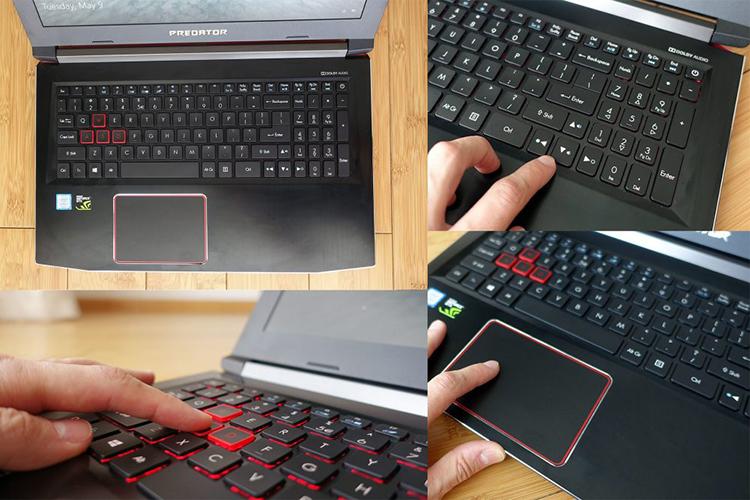 Laptop Acer Predator Helios 300 PH315-51-7533 NH.Q3FSV.002 Core i7-8750H/Free Dos (15.6 inch) - Black - Hàng Chính Hãng