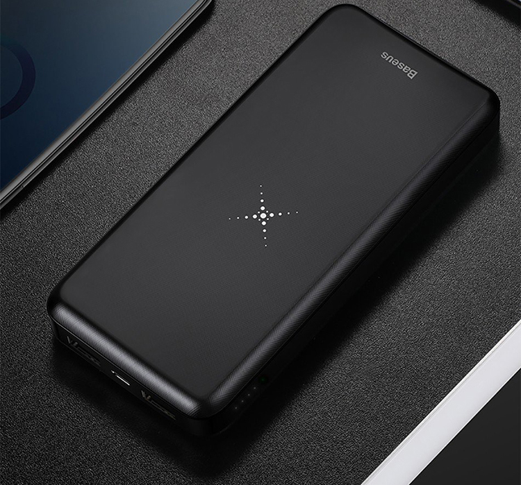 Pin Sạc Dự Phòng Không Dây Baseus M36 Cho iPhone/ iPad/ Samsung/ Oppo