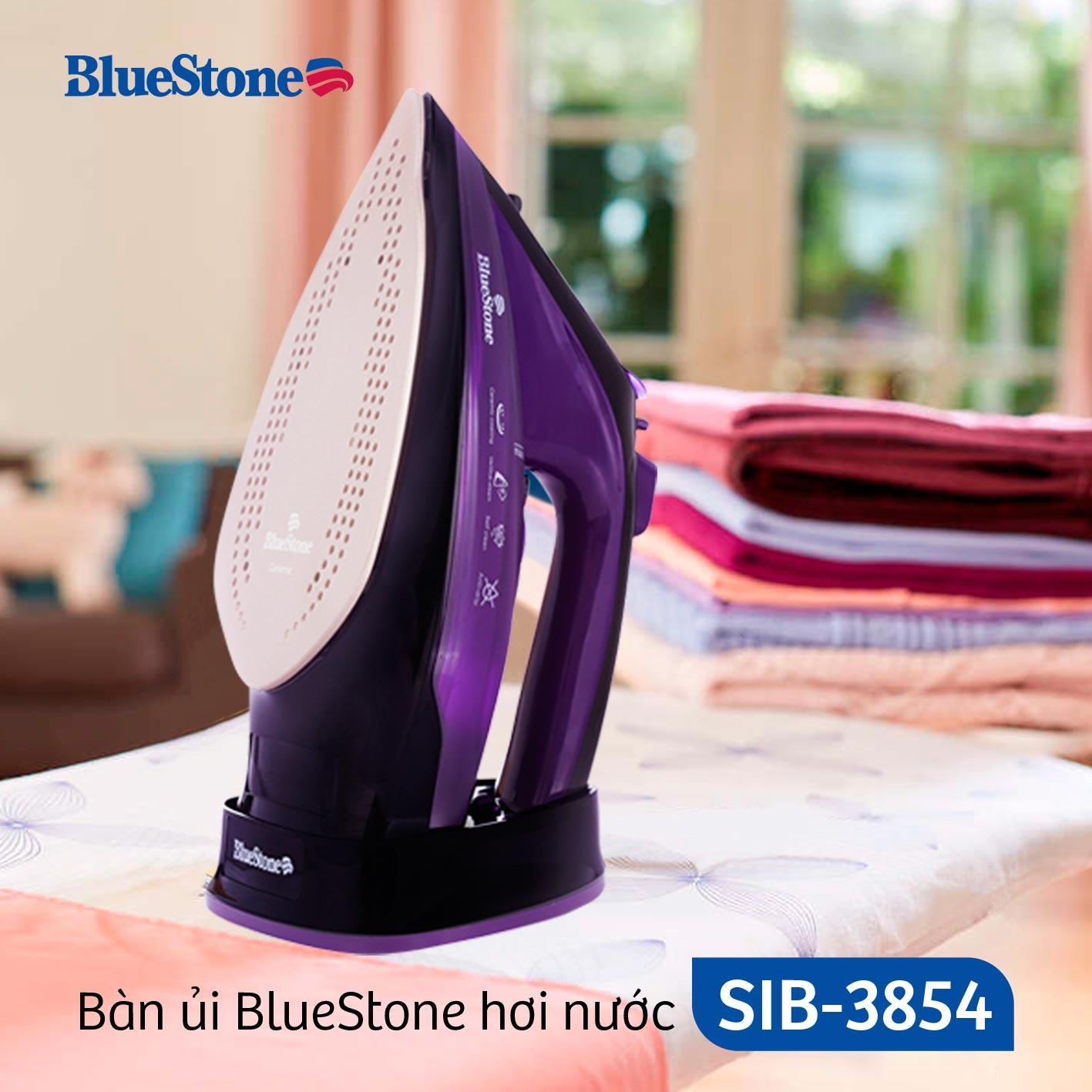 Bàn Ủi Hơi Nước không dây Bluestone SIB-3854 (2400W)