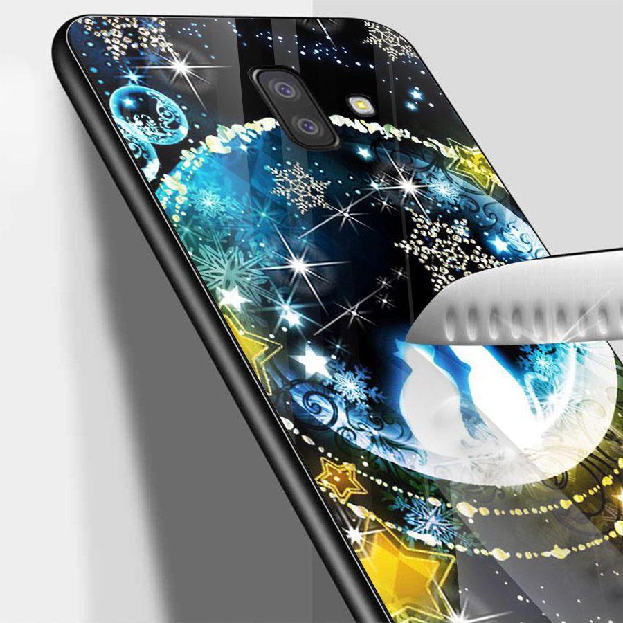 Ốp kính cường lực cho điện thoại Samsung Galaxy J6 - dễ thương muốn xỉu MS CUTE050
