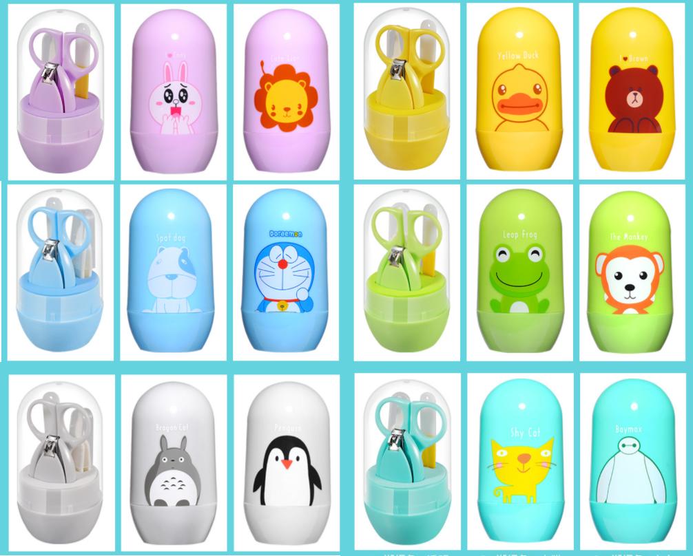 Bộ kềm vắt móng vệ sinh trẻ em, bé sơ sinh cao cấp BB18-BOCMT ( GIAO NGẪU NHIÊN) 7