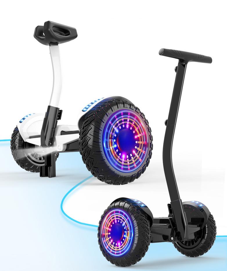 Xe điện cân bằng siêu cấp - 2 tay điều khiển và chân kẹp - Phát nhạc Bluetooth 6