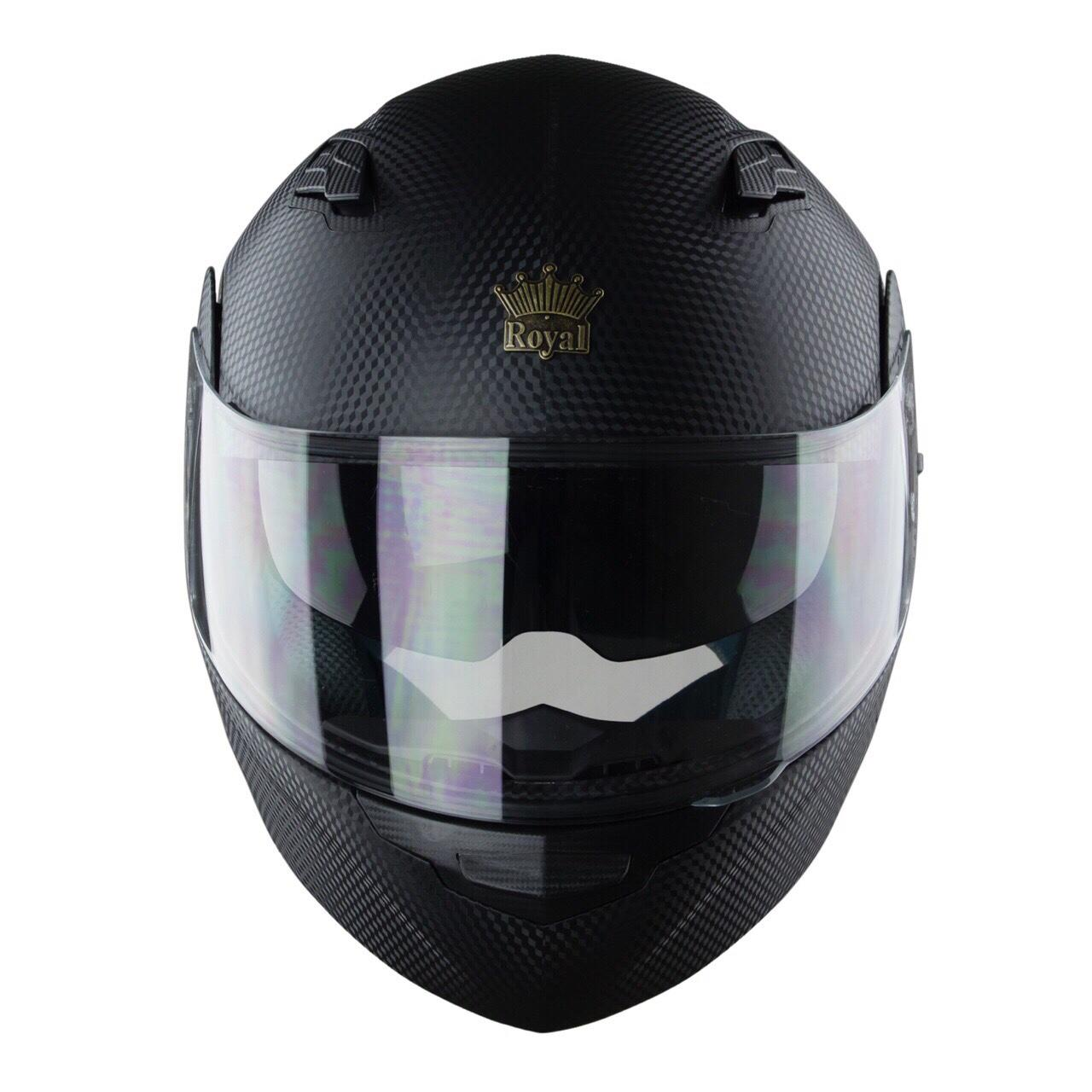 Mũ Bảo Hiểm Fullface Royal M179 Lật Hàm - Tem Carbon Chính Hãng=468.000đ