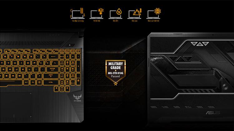 Laptop Asus TUF Gaming FX504GM-EN303T Core i7-8750H/Win10 (15.6″ FHD 120Hz) - Hàng Chính Hãng