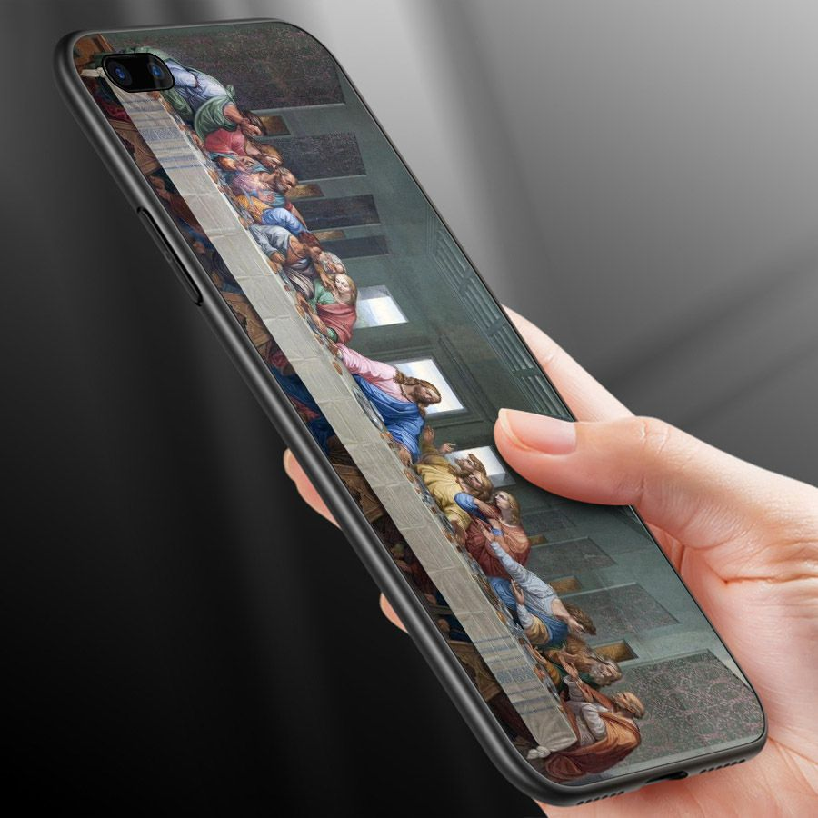 Ốp lưng cứng viền dẻo dành cho điện thoại Oppo A5/A3s - R11 - Tôn giáo MS TGIAO059