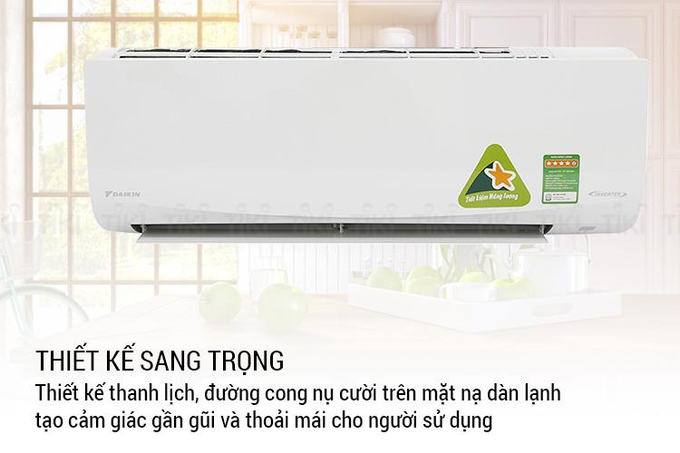 Máy Lạnh Inverter Daikin FTKQ35SAVMV/RKQ35SAVMV (1.5HP) - Hàng chính hãng = 10.569.000đ