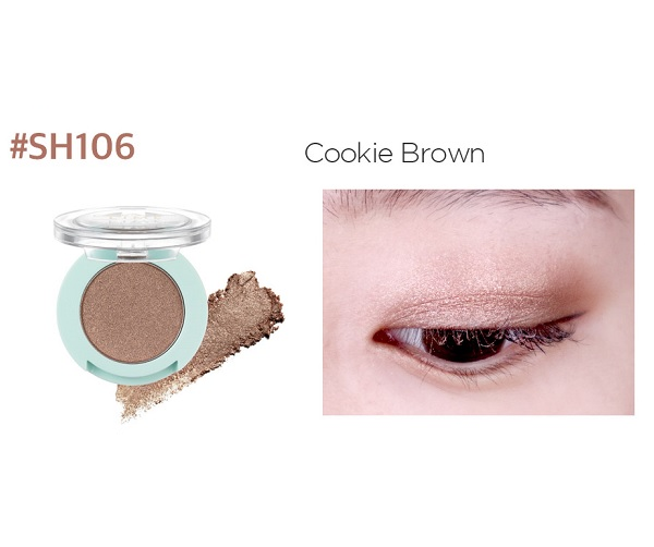 Phấn Mắt Nhũ Lime Color & Eyes Single Shadow 1.4g 10
