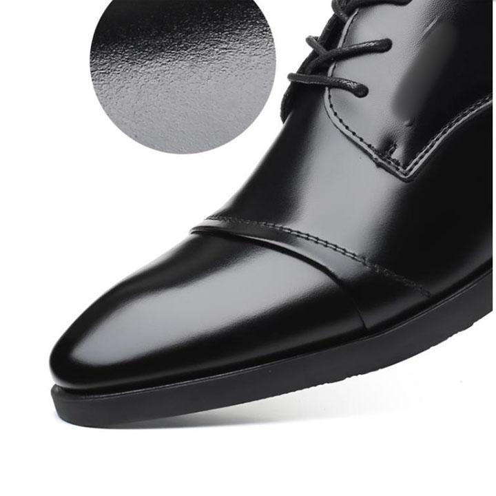 Giày da thật nam giày da nam cao cấp giày nam công sở sang trọng, phong cách thời trang giày da cao cấp giày nam mẫu mới mã 8867-A 16