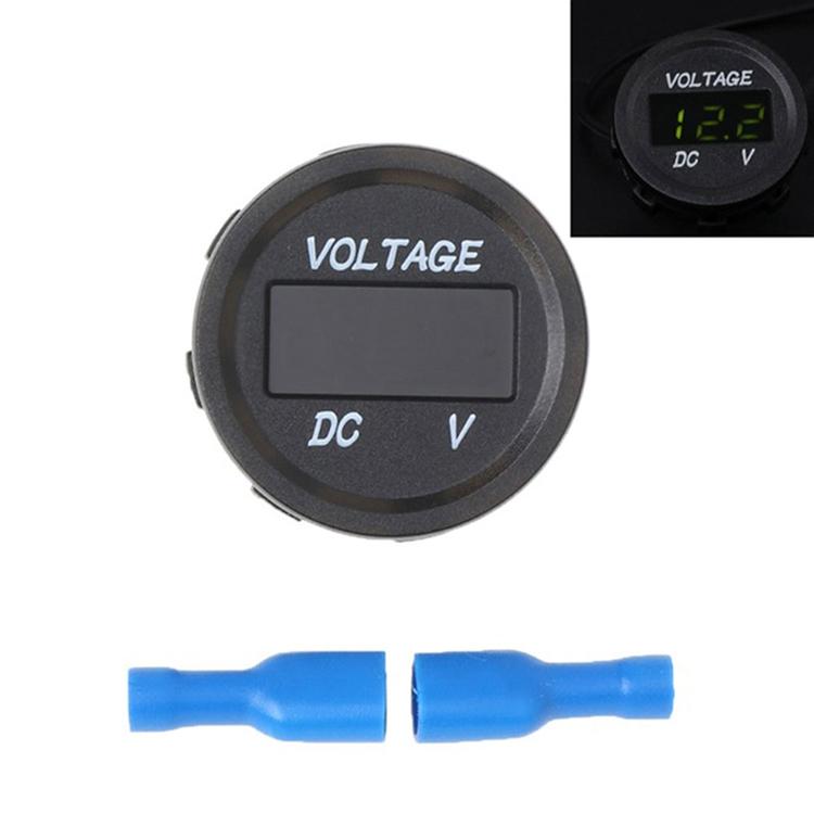 Voltage Meter Voltmeter Durable DC5-48V 5 Color Display Waterproof Modified