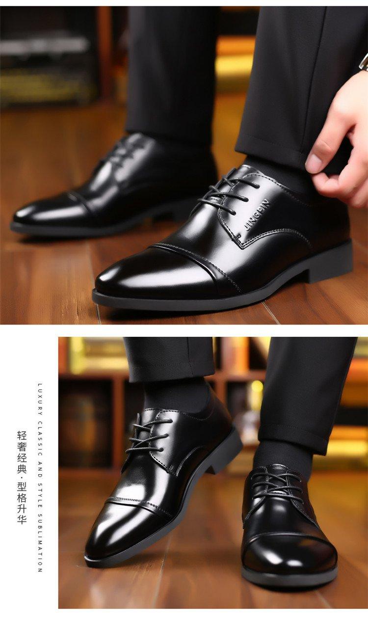 Giày da thật nam giày da nam cao cấp giày nam công sở sang trọng, phong cách thời trang giày da cao cấp giày nam mẫu mới mã 8867-A 5