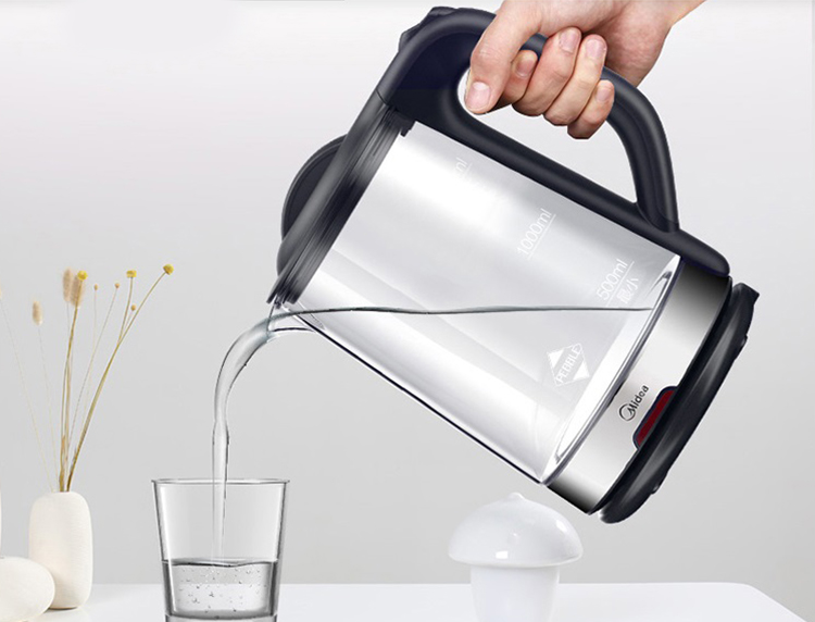 Midea electric kettle kettle electric kettle glass kettle borosilicate glass electric kettle kettle MK-GJ1702