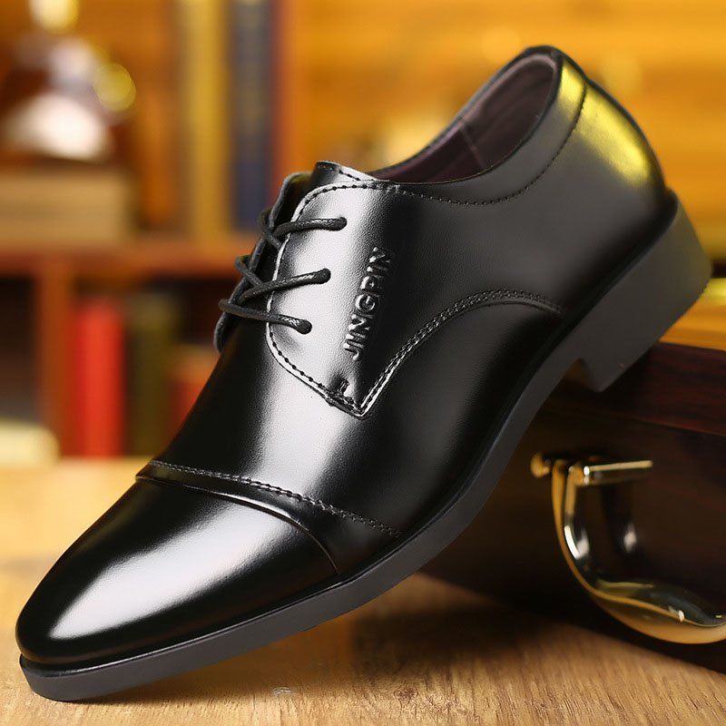 Giày da thật nam giày da nam cao cấp giày nam công sở sang trọng, phong cách thời trang giày da cao cấp giày nam mẫu mới mã 8867-A 14