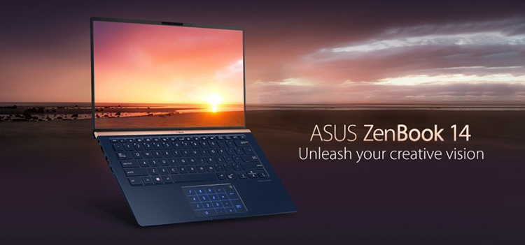 """Laptop Asus Zenbook 14 UX433FA-A6064T Core i5-8265U/ Win10 (14"""" FHD) - Hàng Chính Hãng"""