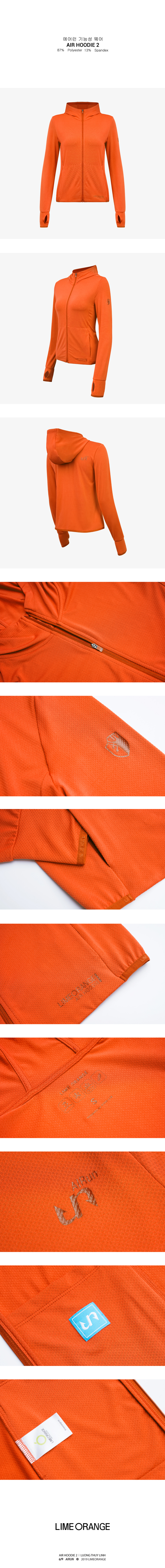 Áo khoác nữ Air Hoodie LO19707101-O 2