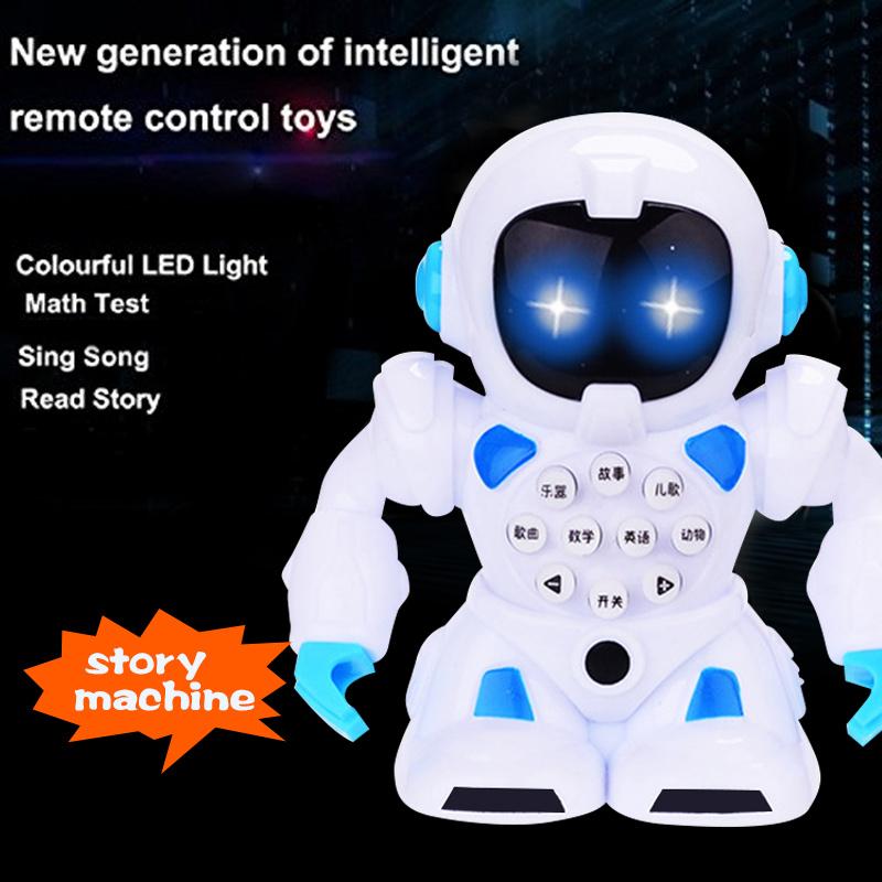Robot Đồ Chơi Thông Minh Đa Chức Năng Xanh Đỏ