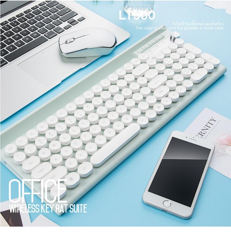 Bộ bàn phím và chuột không dây cao cấp -500 18