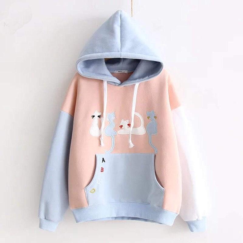 Áo hoodie nữ ABC 2