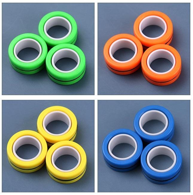 Bộ 6 cái đồ chơi spiner nam châm ( giao màu ngẫu nhiên ) 1