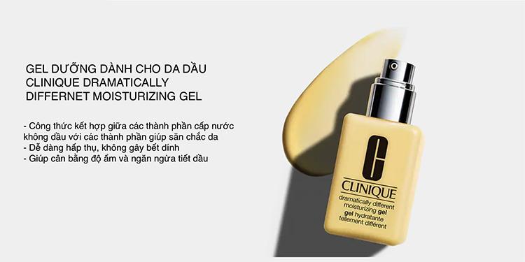 Bộ Sản Phẩm Dưỡng Da Dành Cho Da Hỗn Hợp, Da Dầu Clinique Great Skin Home and Away Gift Set Skin Types 3, 4 (Tặng túi ngẫu nhiên)