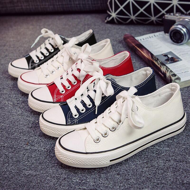 Giày Sneaker Vải Thể Thao Unisex CV9 Năng Động, Sành Điệu 2